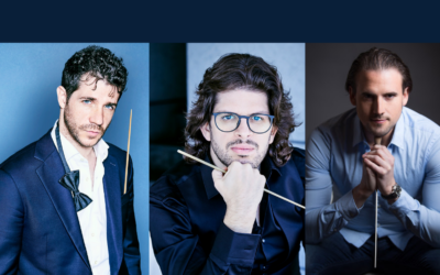 Three young Spanish conductors put music at the beginning of 2021